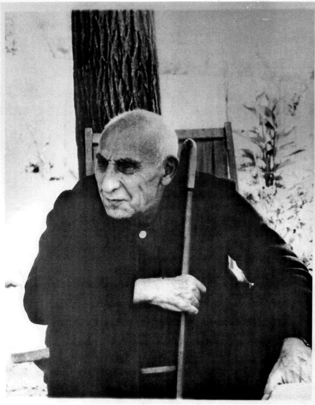 Dr. Mossadegh under house arrest, 1963