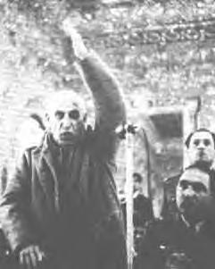 Dr. Mossadegh's trail in the Shah's military court